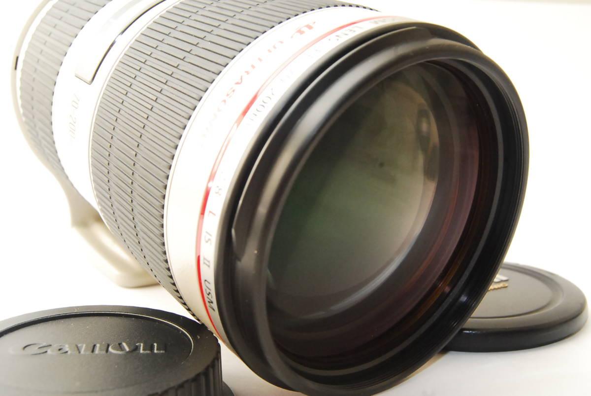 2715 防湿庫保管の極上品 Canon EF70-200mm f2.8L IS Ⅱ USM 現行2型 完動品 3ヶ月保証付_画像4