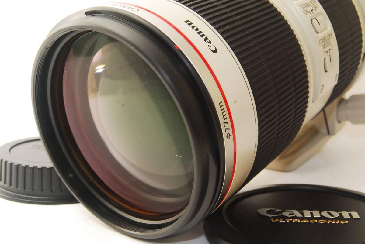 2715 防湿庫保管の極上品 Canon EF70-200mm f2.8L IS Ⅱ USM 現行2型 完動品 3ヶ月保証付_画像2