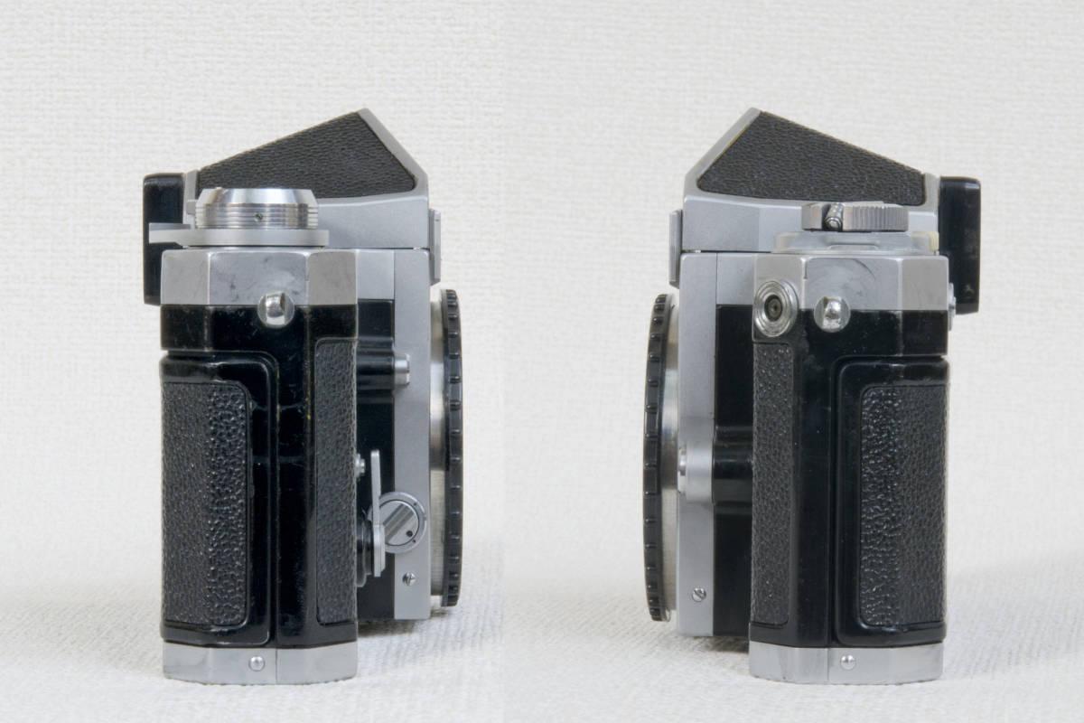 ニコンF アイレベル シルバー 696万番台 Nikkor-H 50mm F1:2.0 セミソフトケース付き 正常動作確認品_画像5