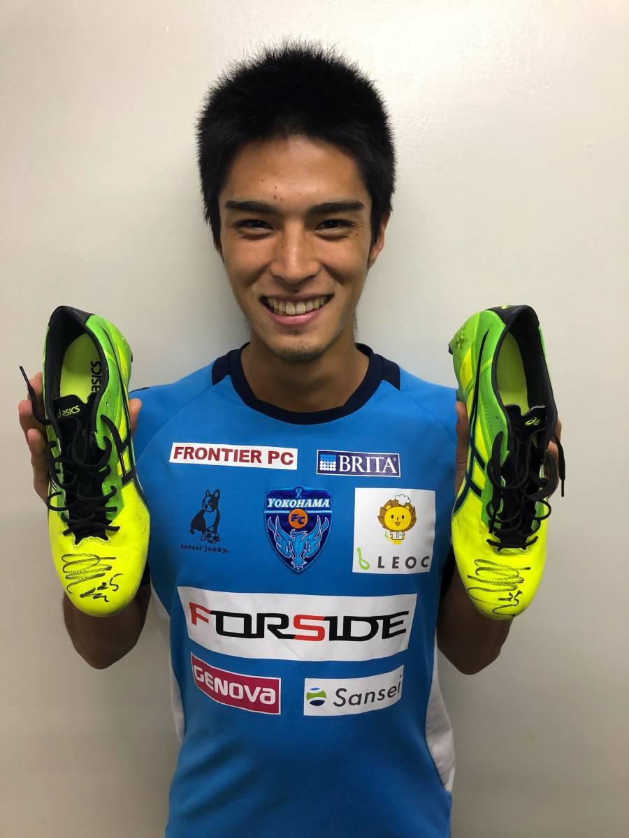 [チャリティ]石井 圭太(横浜FC)スパイク051 rfp1157