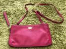 Coach COACH 2way сумка сумка на плечо розовый клатч . кошелек сумка