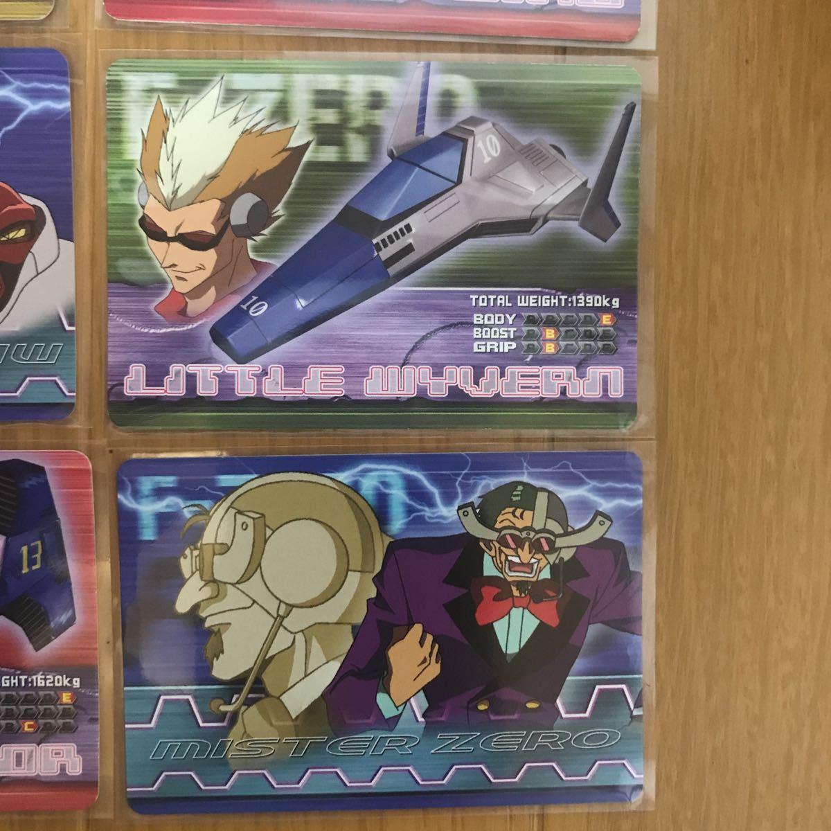 GBA  F-ZERO ファルコン伝説 &【希少】7枚 カードダス版 2枚有り☆ファルコン伝説カードe+ トレカ カード 任天堂 キャプテンファルコン_画像5
