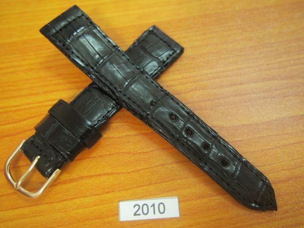 1円~|2010|ラグ幅20mm|クロコダイル|ワニ革|バネ棒おまけ|時計ベルト|売切り|処分_画像2