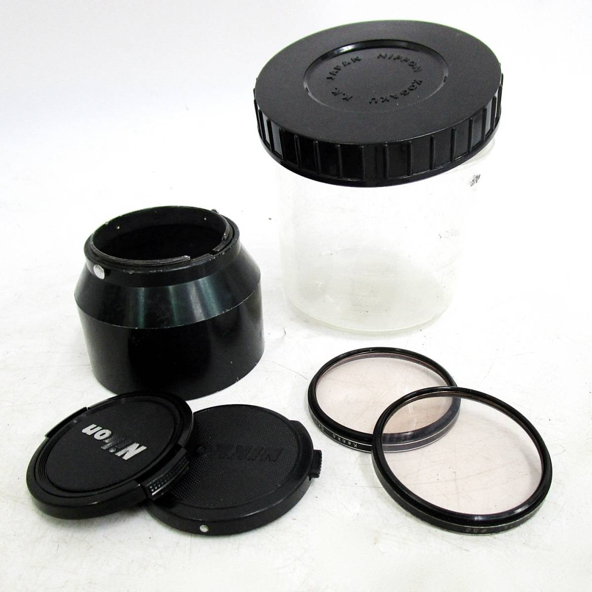 20 110-76348-28 Nikon ニコン F アイレベル 一眼レフカメラ レンズ NIKKOR-S Auto 1:2.8 f=35mm / NIKKOR-P Auto 1:2.5 f=10.5cm 長110_画像10