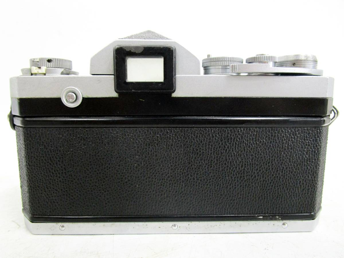 20 110-76348-28 Nikon ニコン F アイレベル 一眼レフカメラ レンズ NIKKOR-S Auto 1:2.8 f=35mm / NIKKOR-P Auto 1:2.5 f=10.5cm 長110_画像3