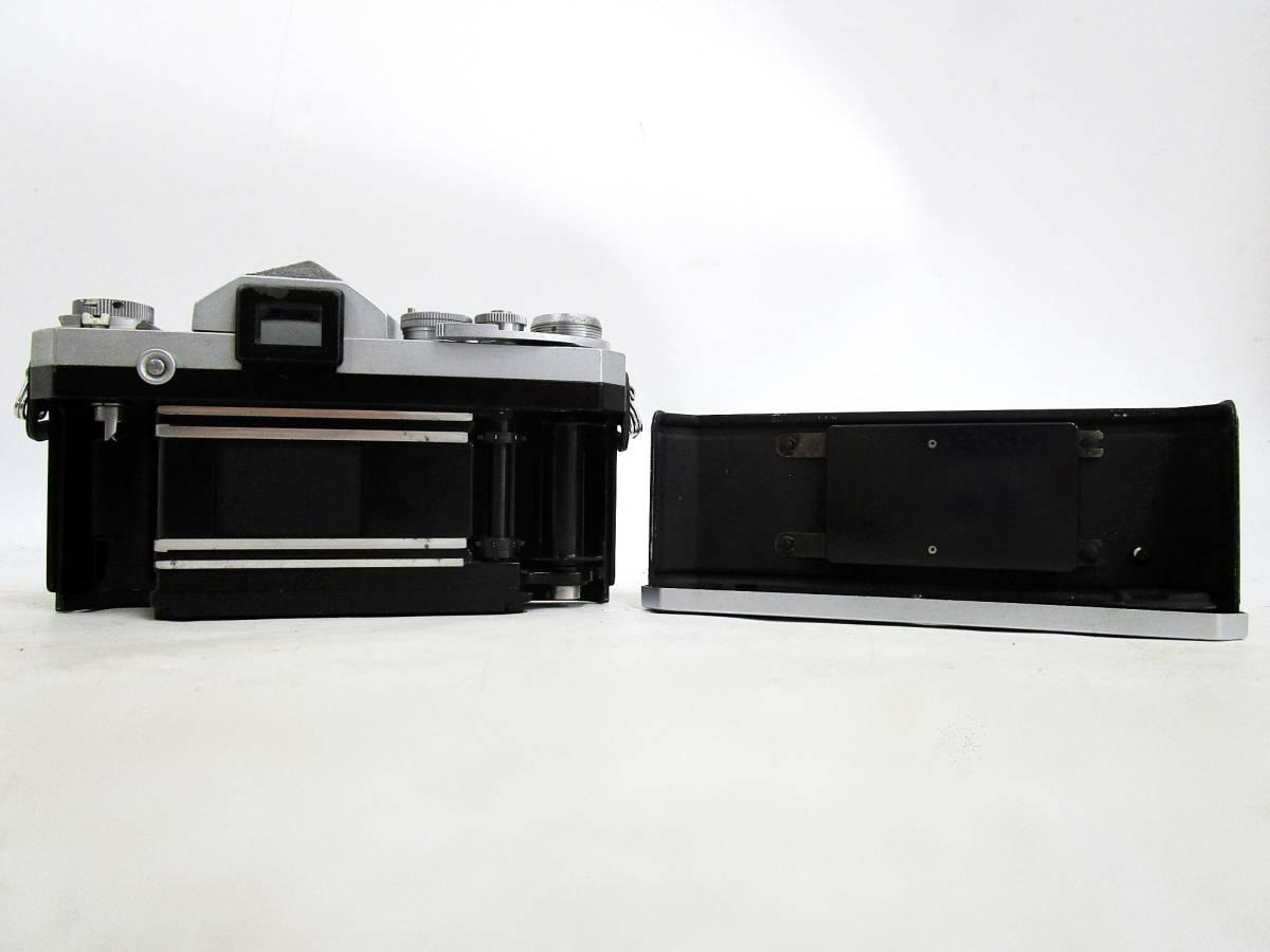 20 110-76348-28 Nikon ニコン F アイレベル 一眼レフカメラ レンズ NIKKOR-S Auto 1:2.8 f=35mm / NIKKOR-P Auto 1:2.5 f=10.5cm 長110_画像5