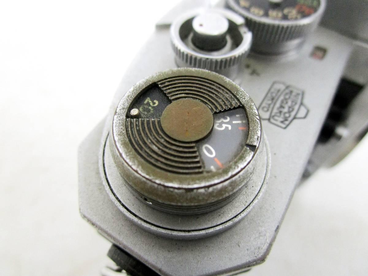 20 110-76348-28 Nikon ニコン F アイレベル 一眼レフカメラ レンズ NIKKOR-S Auto 1:2.8 f=35mm / NIKKOR-P Auto 1:2.5 f=10.5cm 長110_画像7