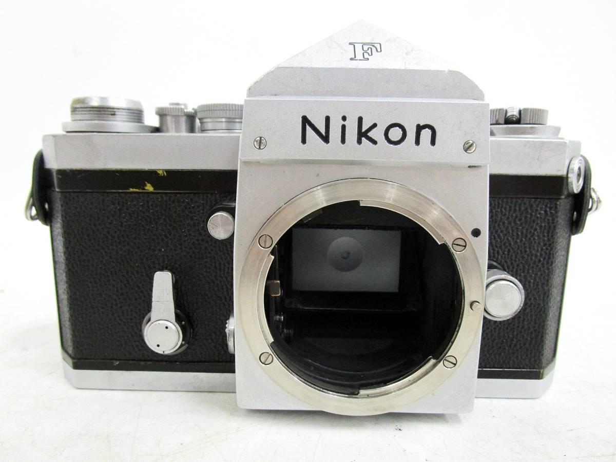 20 110-76348-28 Nikon ニコン F アイレベル 一眼レフカメラ レンズ NIKKOR-S Auto 1:2.8 f=35mm / NIKKOR-P Auto 1:2.5 f=10.5cm 長110_画像2