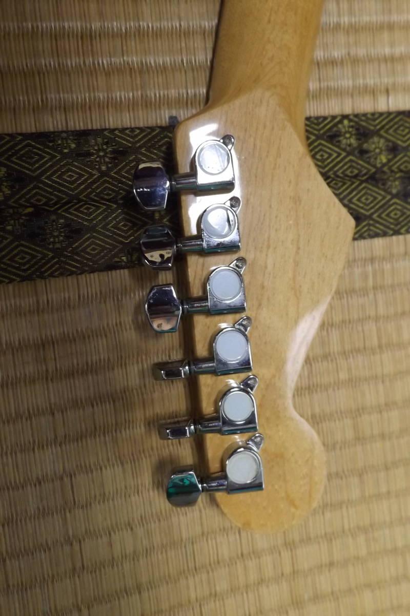 BUSKER'S バスカーズ エレキギター ストラトタイプ サンバースト 中古品_画像5