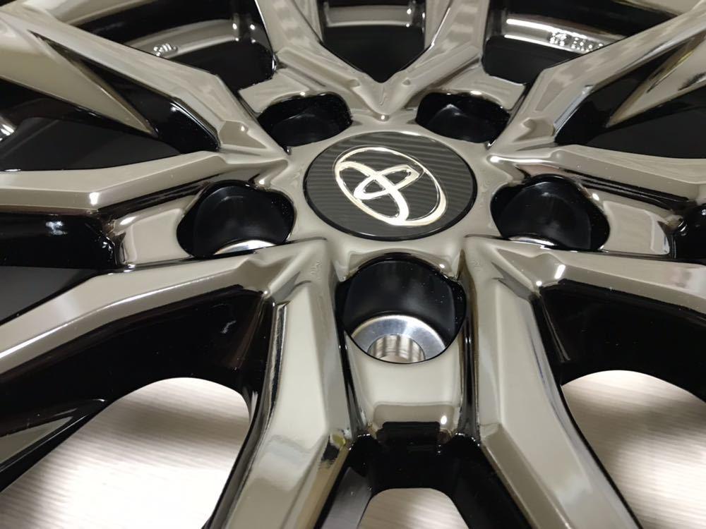 ★未使用的商品★GR SPORT G的18英寸正品豐田Noah Voxy Eskfire鋁合金輪轂4套提示決定罕見 編號:j521011497