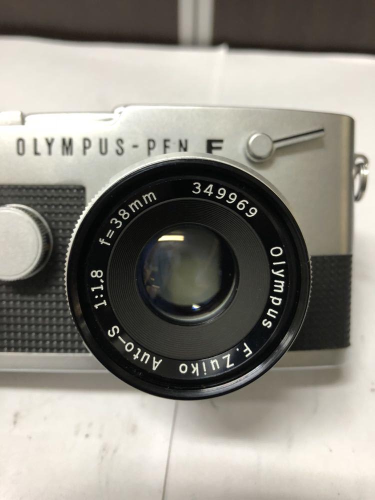 OLYMPUS オリンパス PEN-FT レンズ付_画像3