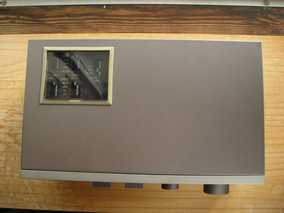 QUAD 44 プリアンプ 後期型(ブラウン)ジャンク 送料無料_画像2
