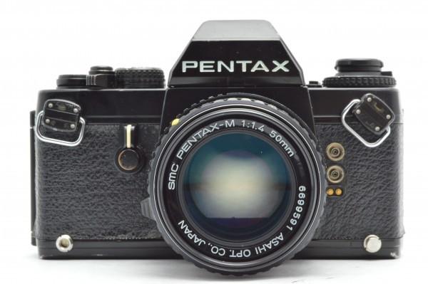 ◆ PENTAX ペンタックス LX + smc PENTAX-M 50mm F1.4 フィルムカメラ 標準単焦点レンズ セット MF一眼レフ 送料無料