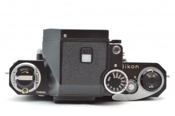 ◆ Nikon ニコン F フォトミック FTn 729万台 ブラック + 非AI NIKKOR-H Auto 50mm F2 フィルムカメラ レンズ セット 送料無料_画像4