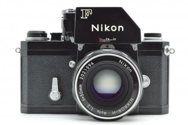 ◆ Nikon ニコン F フォトミック FTn 729万台 ブラック + 非AI NIKKOR-H Auto 50mm F2 フィルムカメラ レンズ セット 送料無料