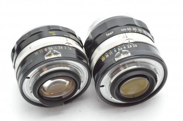 ◆ Nikon ニコン F アイレベル 650万台 + 非AI 5.8cm F1.4 + 10.5cm F2.5 フィルムカメラ 標準単焦点 中望遠単焦点 訳あり 送料無料_画像10
