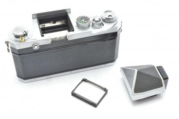 ◆ Nikon ニコン F アイレベル 726万台 + 非AI NIKKOR-S Auto 50mm F1.4 + 135mm F2.8 フィルムカメラ 標準単焦点 中望遠単焦点 送料無料_画像6