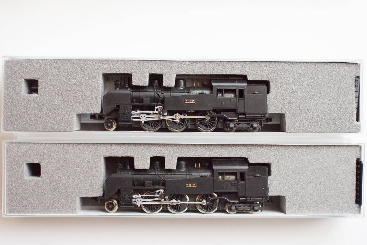KATO Nゲージ C11 2002 鉄道模型 蒸気機関車 2個