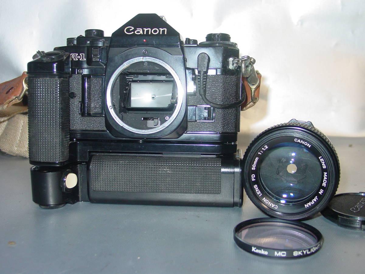 ☆Canon A-1(黒)+レンズ☆