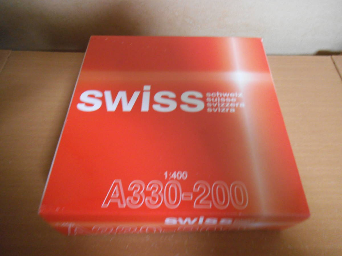 1/400 ツカノライン スイス国際航空 A330-200_画像3