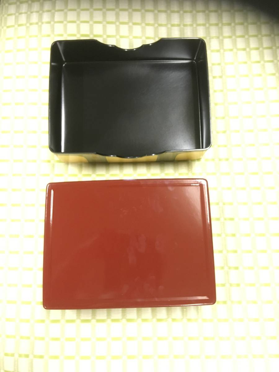 lacquer box to hold letters * small articles payment * black *. color modern domestic production * rare antique