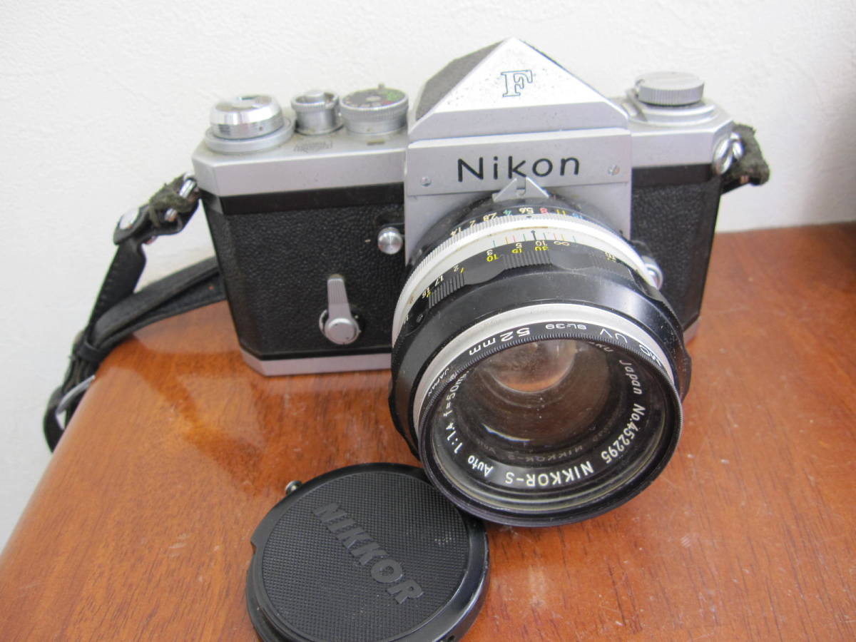 ニコンF + NIKKOR-S Auto 1:1.4 f=50mm_画像2