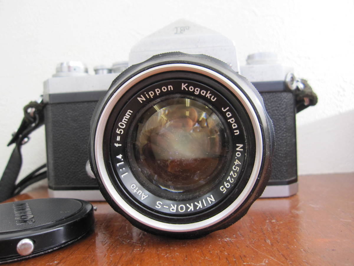 ニコンF + NIKKOR-S Auto 1:1.4 f=50mm_画像4