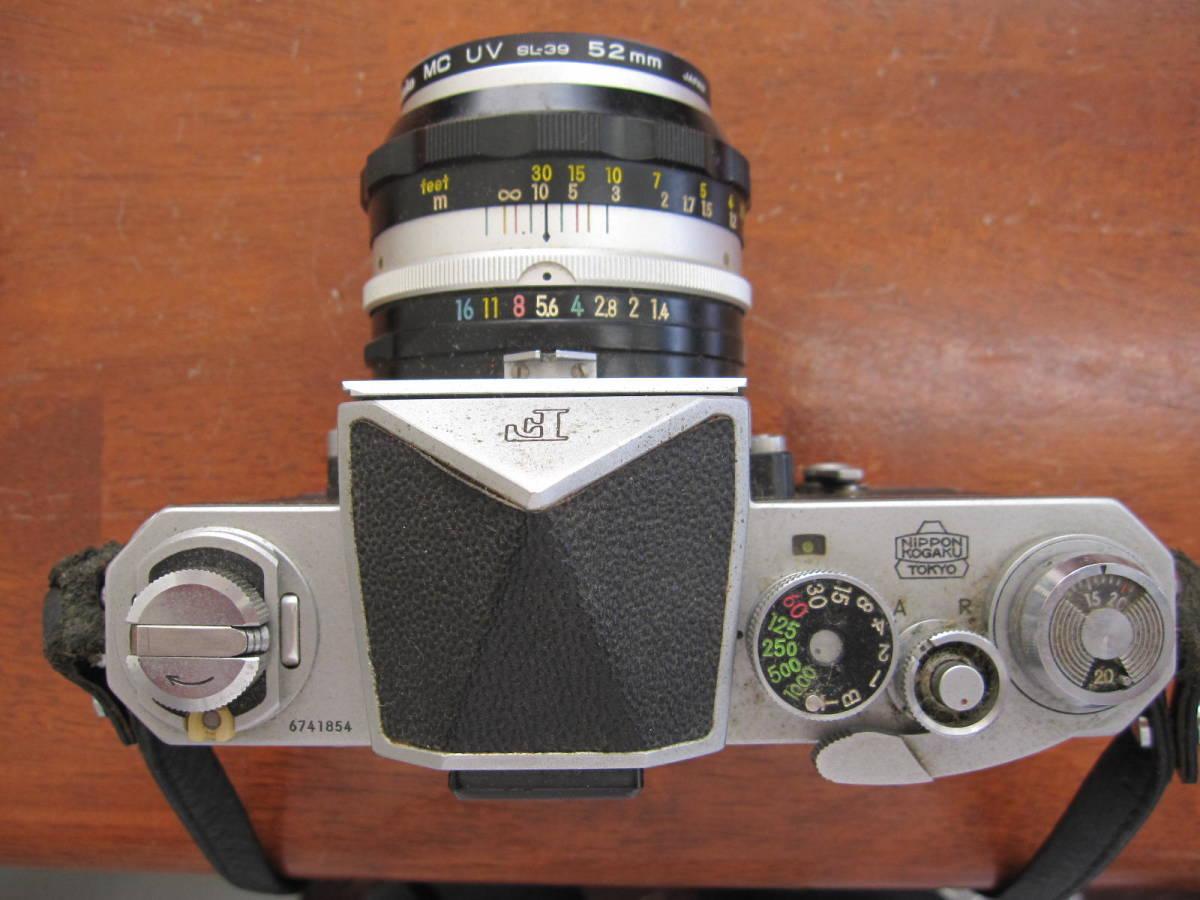 ニコンF + NIKKOR-S Auto 1:1.4 f=50mm_画像5
