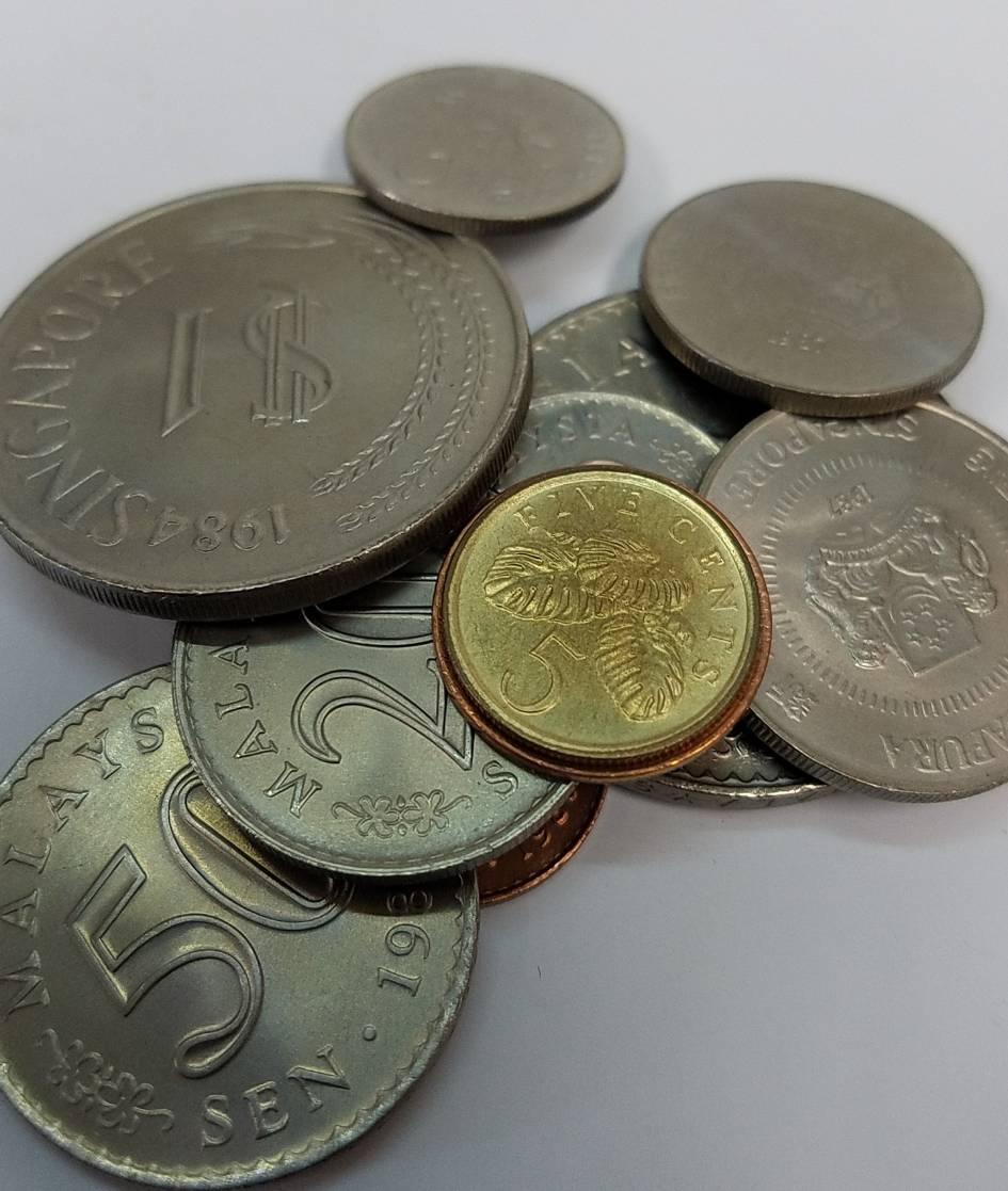 ★外国貨幣等  コイン まとめ★1930.5gアメリカ/ドイツ/イギリス/メキシコ/ジャマイカ/オーストラリア/シンガポール/フランス/他 CE0_画像8