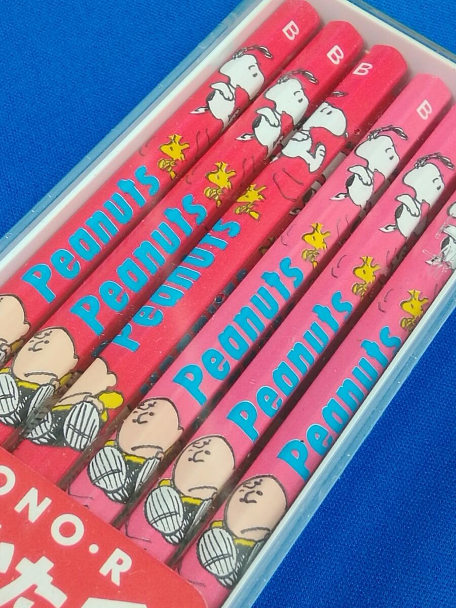 【新品】スヌーピー(SNOOPY)★ピーナッツ(PEANUTS)★MONO-R鉛筆/B/12本入り トンボ鉛筆 _画像4