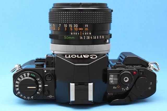 作動確認済み Canon A-1 FD 50mm 1.4 SSC シャッター・露出計OK 純正付属品多数 詳細は説明参照 ジャンクで_画像5
