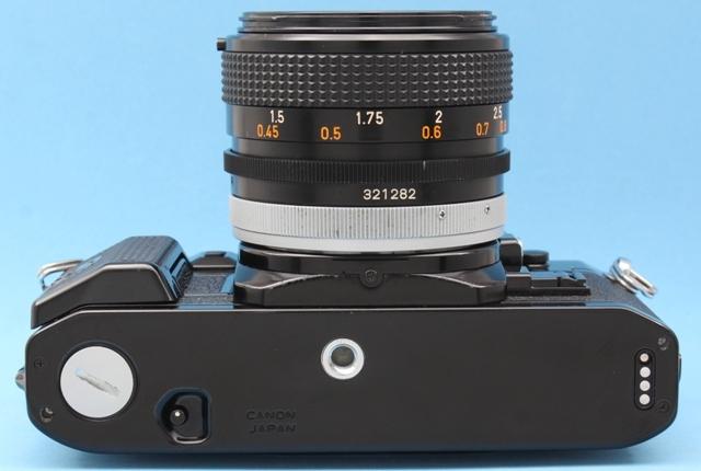 作動確認済み Canon A-1 FD 50mm 1.4 SSC シャッター・露出計OK 純正付属品多数 詳細は説明参照 ジャンクで_画像6