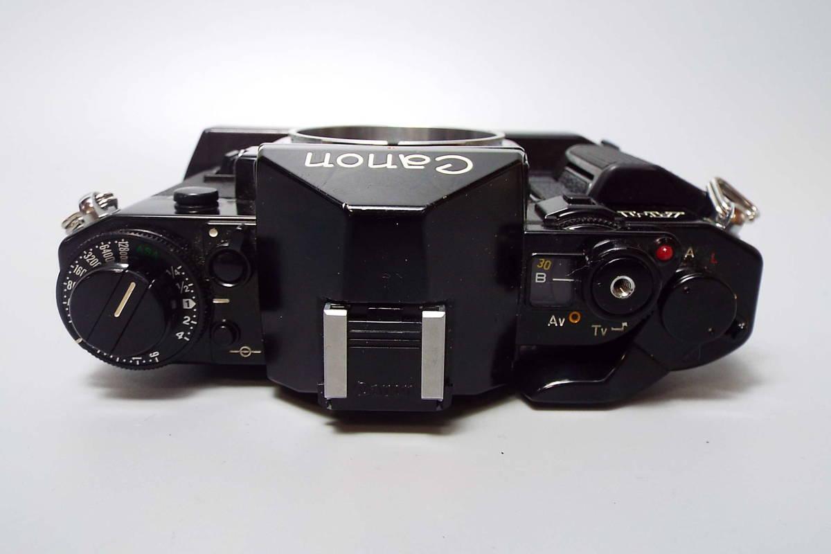CANON キャノン/一眼レフ/フィルムカメラ/MF/A-1/ブラック/FD 50mm/f:1.4/POWER WINDER A2/W559_画像4