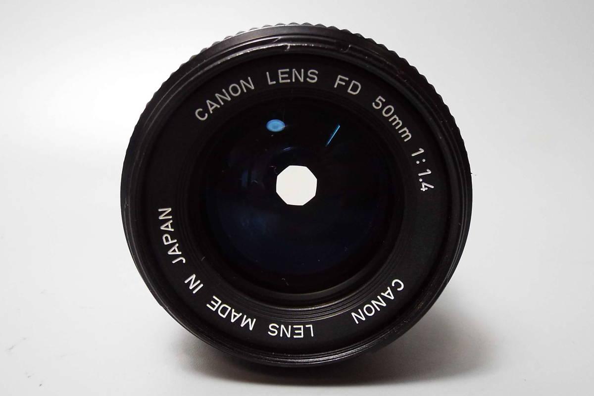 CANON キャノン/一眼レフ/フィルムカメラ/MF/A-1/ブラック/FD 50mm/f:1.4/POWER WINDER A2/W559_画像8