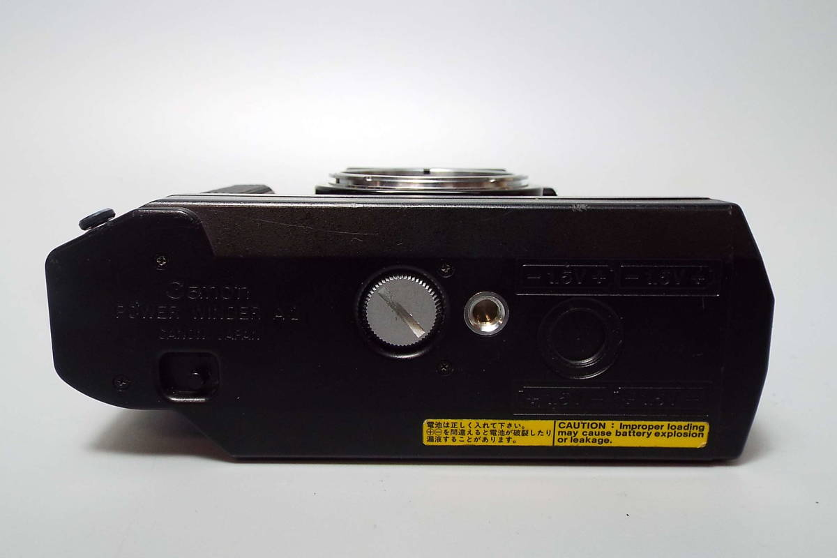 CANON キャノン/一眼レフ/フィルムカメラ/MF/A-1/ブラック/FD 50mm/f:1.4/POWER WINDER A2/W559_画像5
