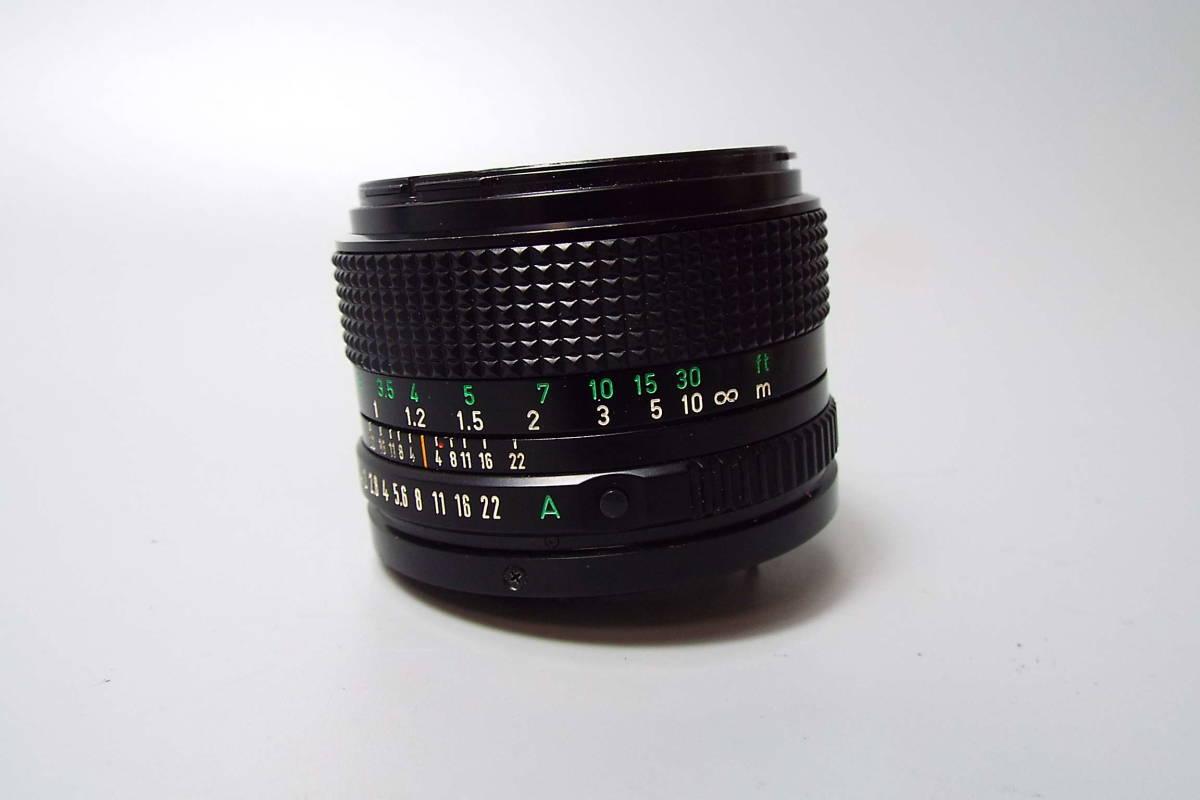CANON キャノン/一眼レフ/フィルムカメラ/MF/A-1/ブラック/FD 50mm/f:1.4/POWER WINDER A2/W559_画像10
