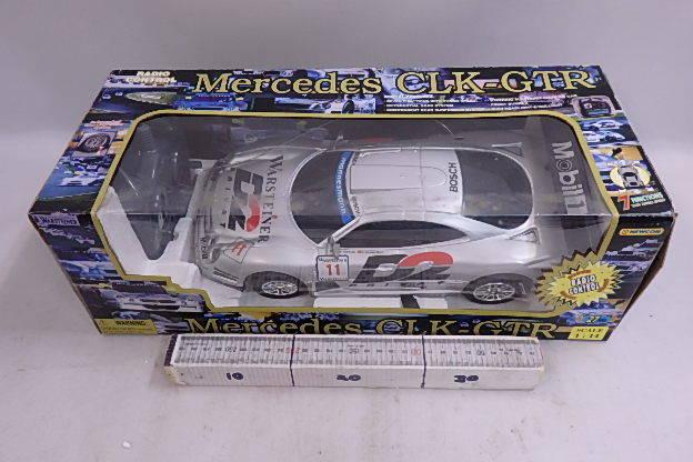 送料無料 メルセデスベンツ Mercedes-Benz CLK-GTR 1.14 RCラジコン テストOK 27MHS  箱にいたみ
