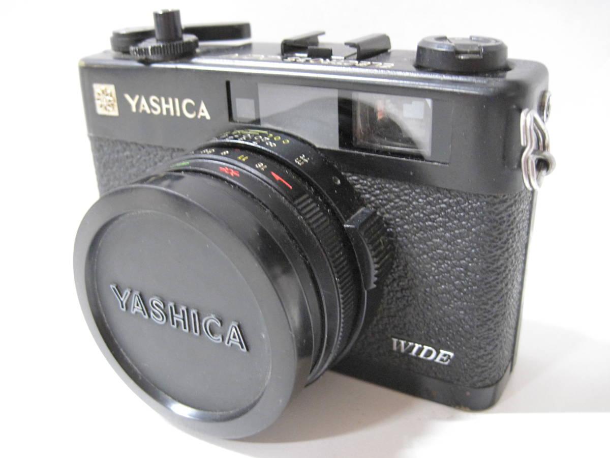 カメラ 祭 YASHICA ヤシカ ELECTRO エレクトロ 35CCN フィルム コンパクト カメラ COLOR YASHINON カラーヤシノン DX 35mm 1:2.8