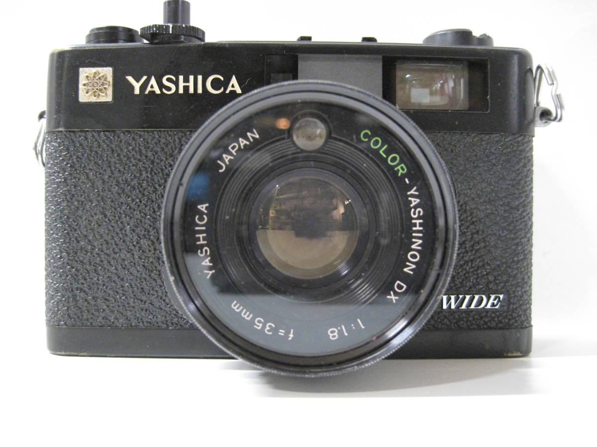 カメラ 祭 YASHICA ヤシカ ELECTRO エレクトロ 35CCN フィルム コンパクト カメラ COLOR YASHINON カラーヤシノン DX 35mm 1:2.8_画像2