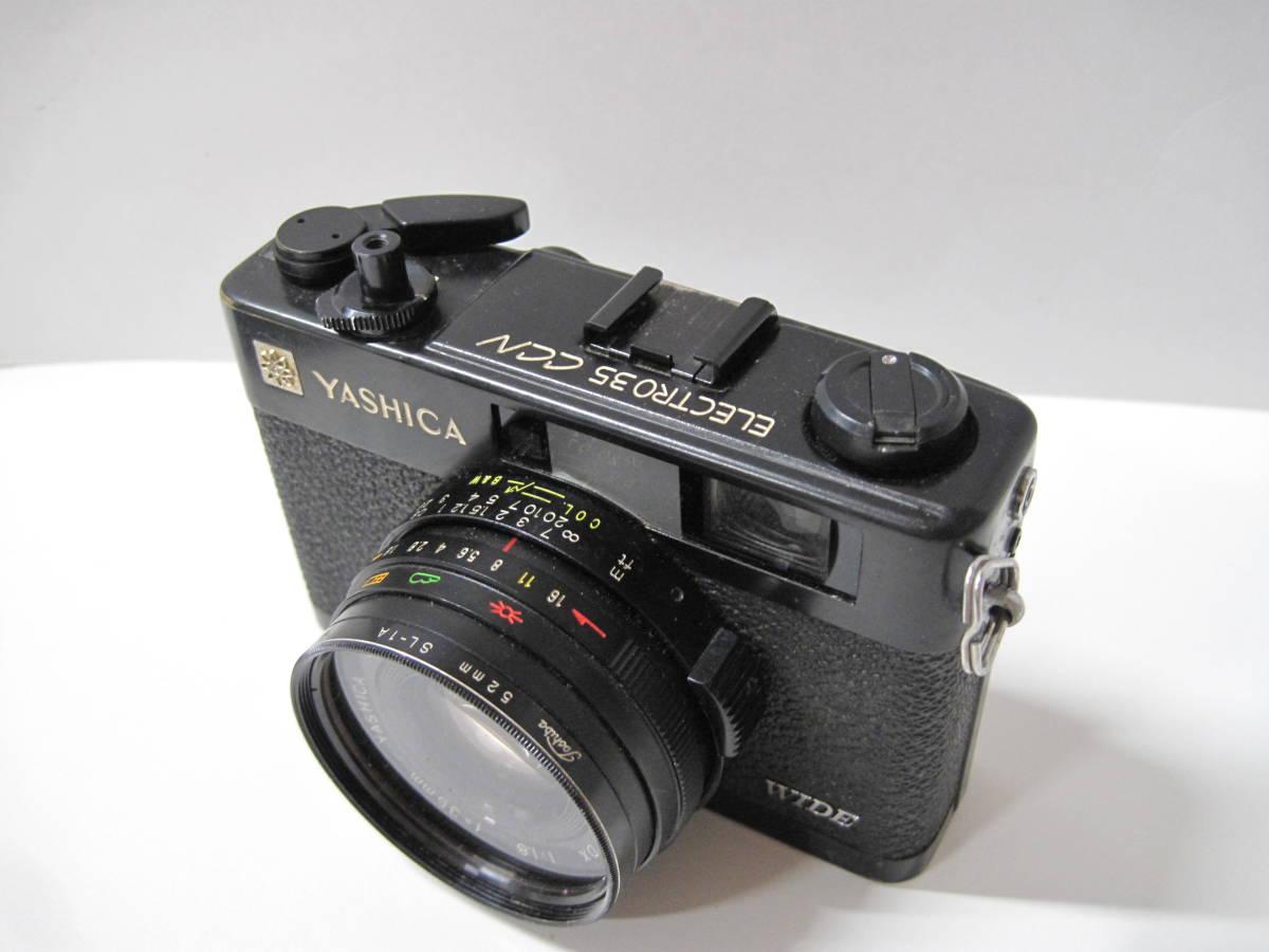 カメラ 祭 YASHICA ヤシカ ELECTRO エレクトロ 35CCN フィルム コンパクト カメラ COLOR YASHINON カラーヤシノン DX 35mm 1:2.8_画像3