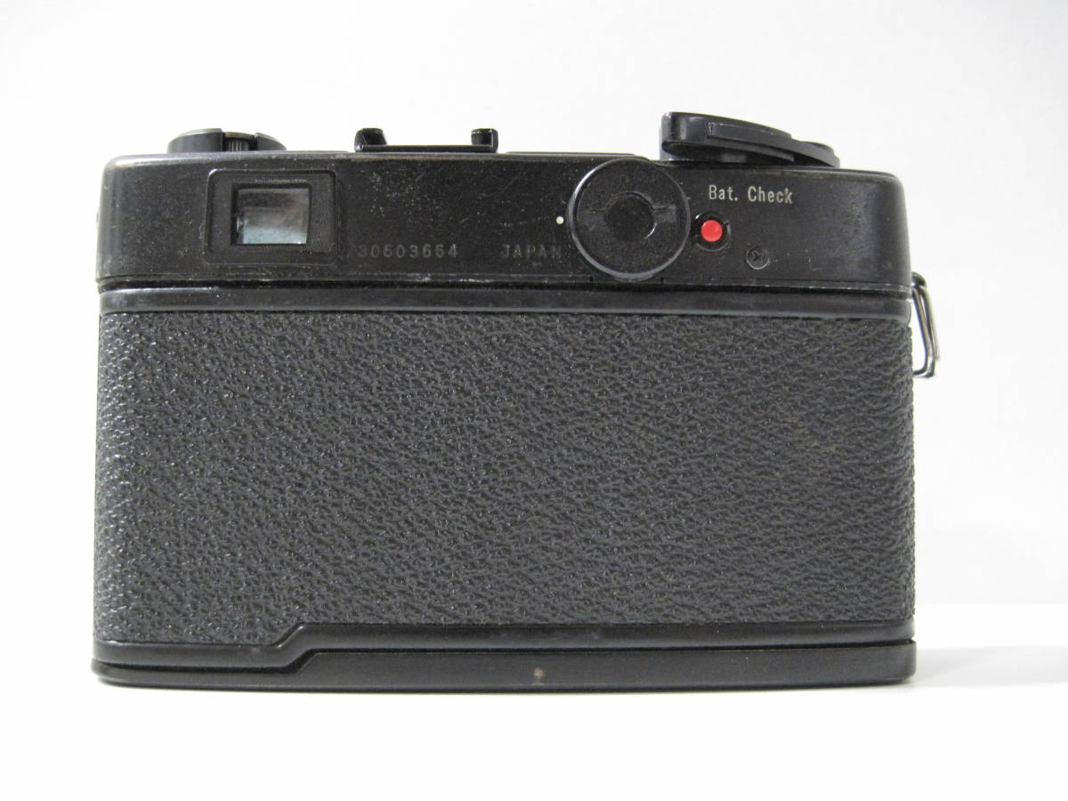 カメラ 祭 YASHICA ヤシカ ELECTRO エレクトロ 35CCN フィルム コンパクト カメラ COLOR YASHINON カラーヤシノン DX 35mm 1:2.8_画像5