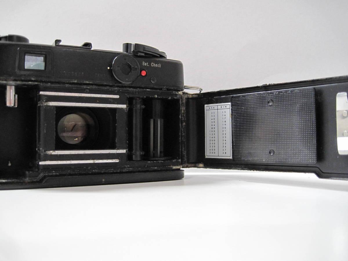 カメラ 祭 YASHICA ヤシカ ELECTRO エレクトロ 35CCN フィルム コンパクト カメラ COLOR YASHINON カラーヤシノン DX 35mm 1:2.8_画像6