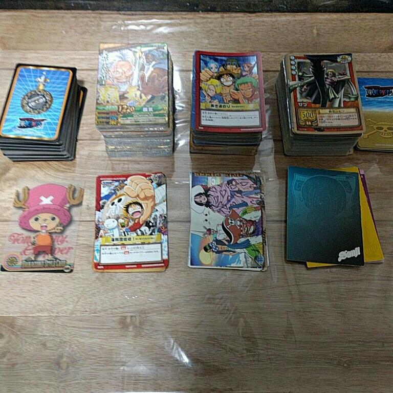 送料無料 ワンピース カード まとめ キラ 大量 ベリーマッチ グミカード グミカ from tv animation カードゲーム ic ダブル