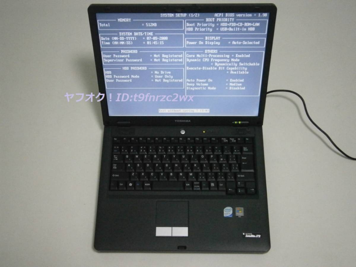 DRIVERS DYNABOOK SATELLITE J72