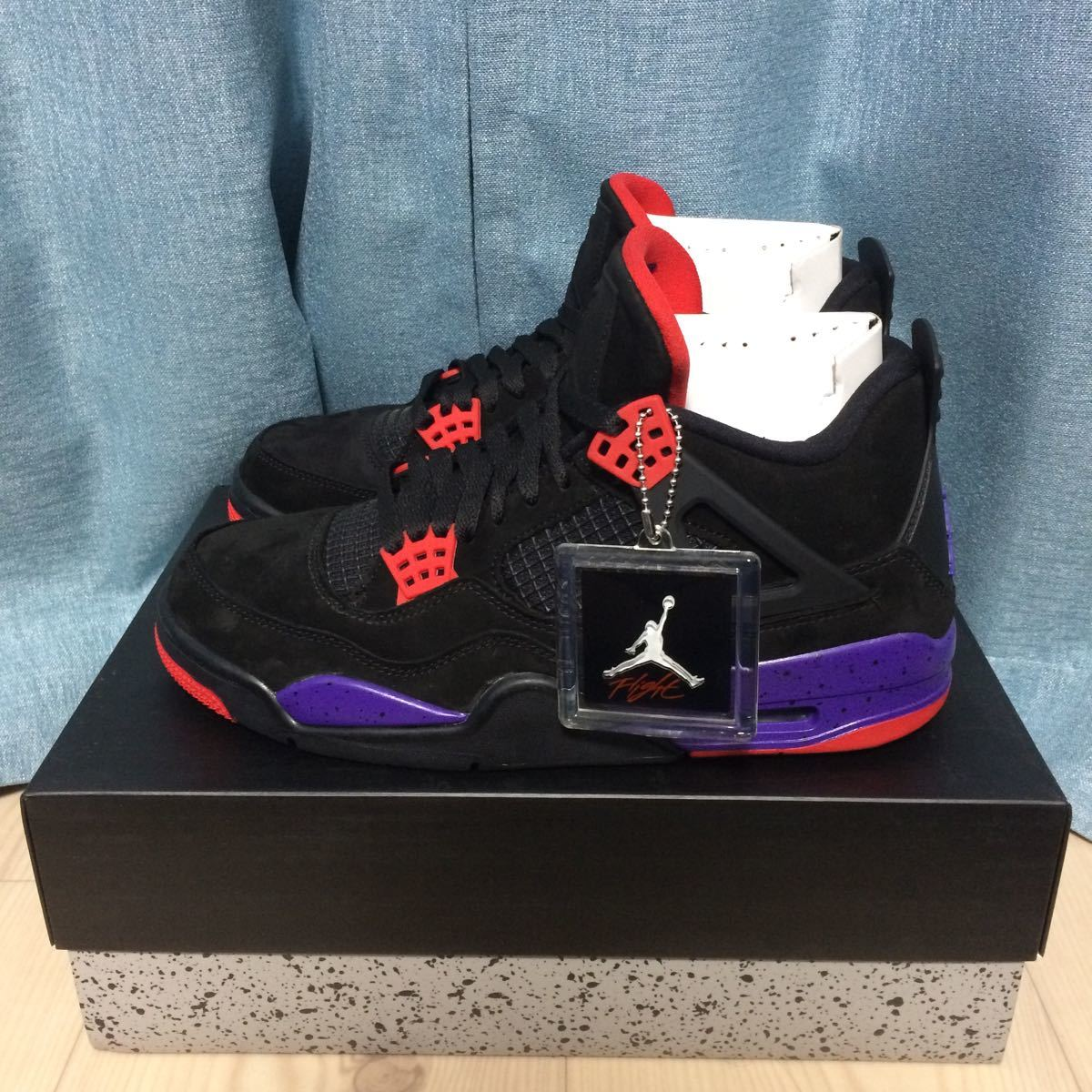 release date: 395f3 f4938 new goods 27.0 cm US 9 Nike Air Jordan 4 Retro NRG Toronto Taptors Nike air
