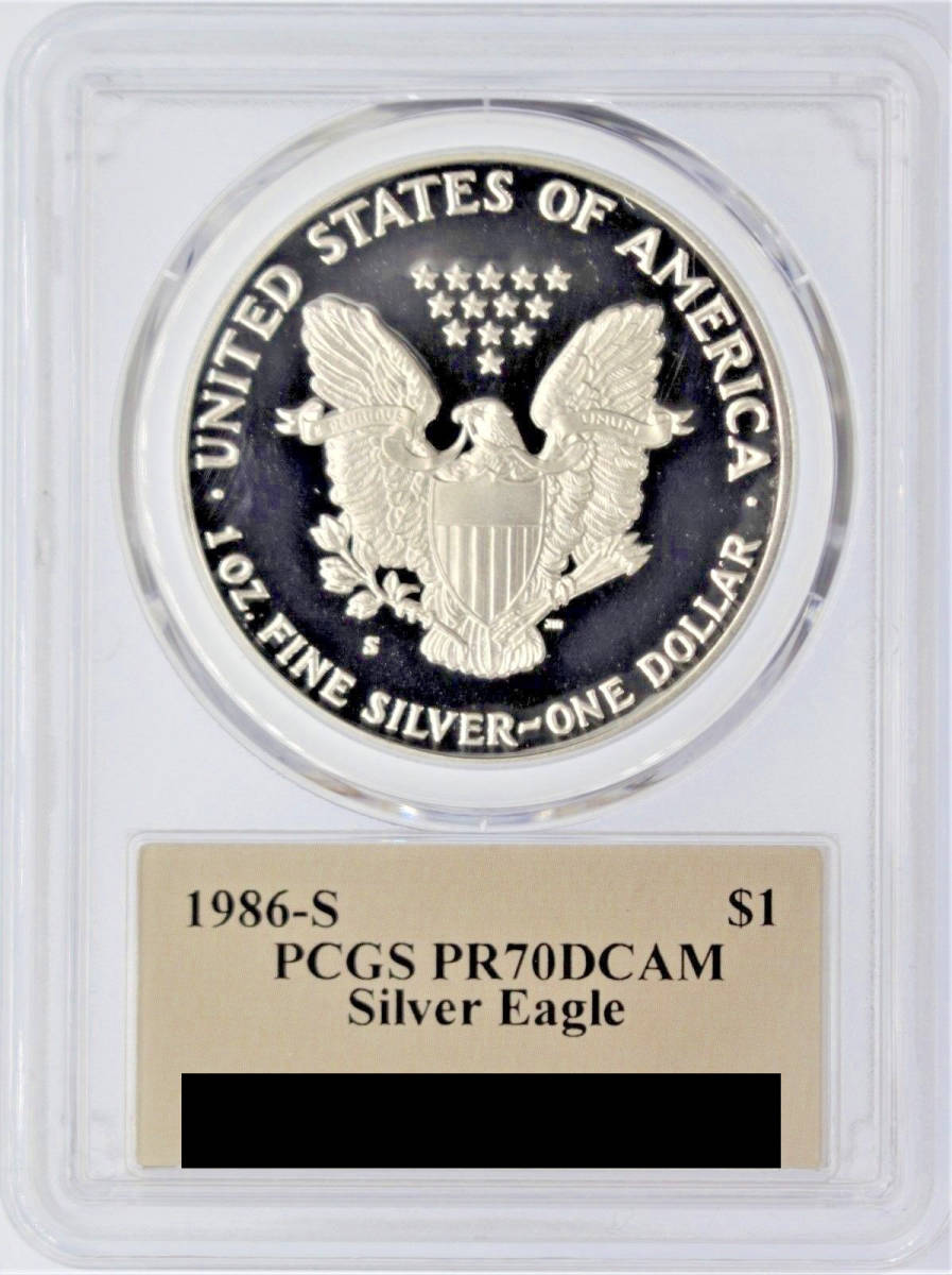 2017-W 1$ Silver Eagle Proof PCGS PR70DCAM First Strike