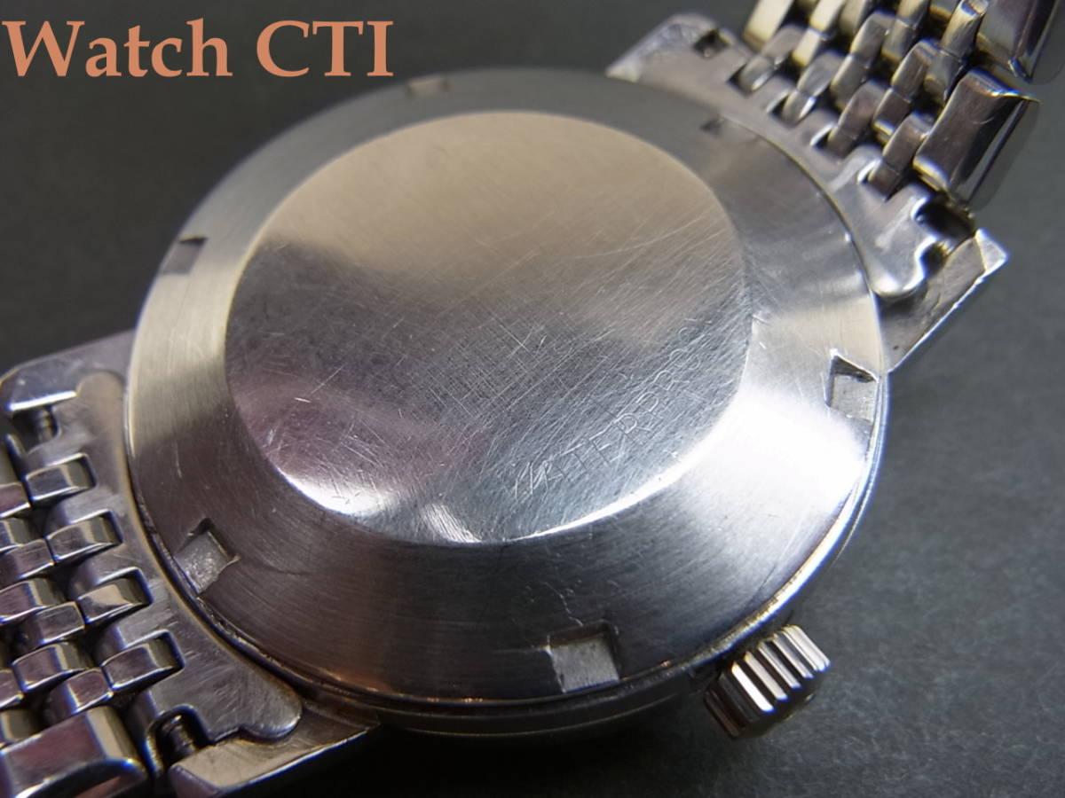 Ω オメガOMEGA ジュネーヴGeneve C552オートマチック オールブレゲ数字 純正ブレス付 管理番号S2228_画像6