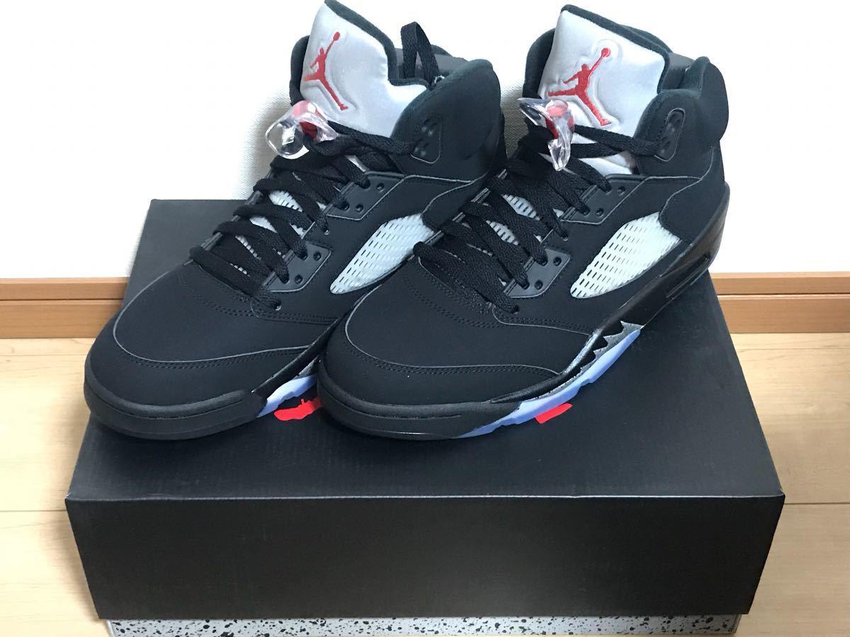 new goods unused goods NIKE AIR JORDAN 5 RETRO OG BLACK SILVER black silver  Nike air cde33e869