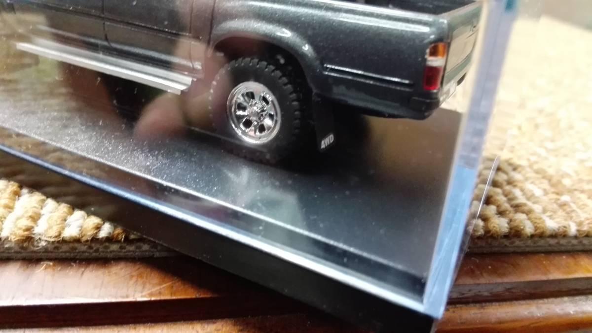 Hi -story  ハイストーリー インターアライド レジンモデル 1/43 TOYOTA HILUX 4WD PICK UP SSR -X グレー レッド2台セット_画像10
