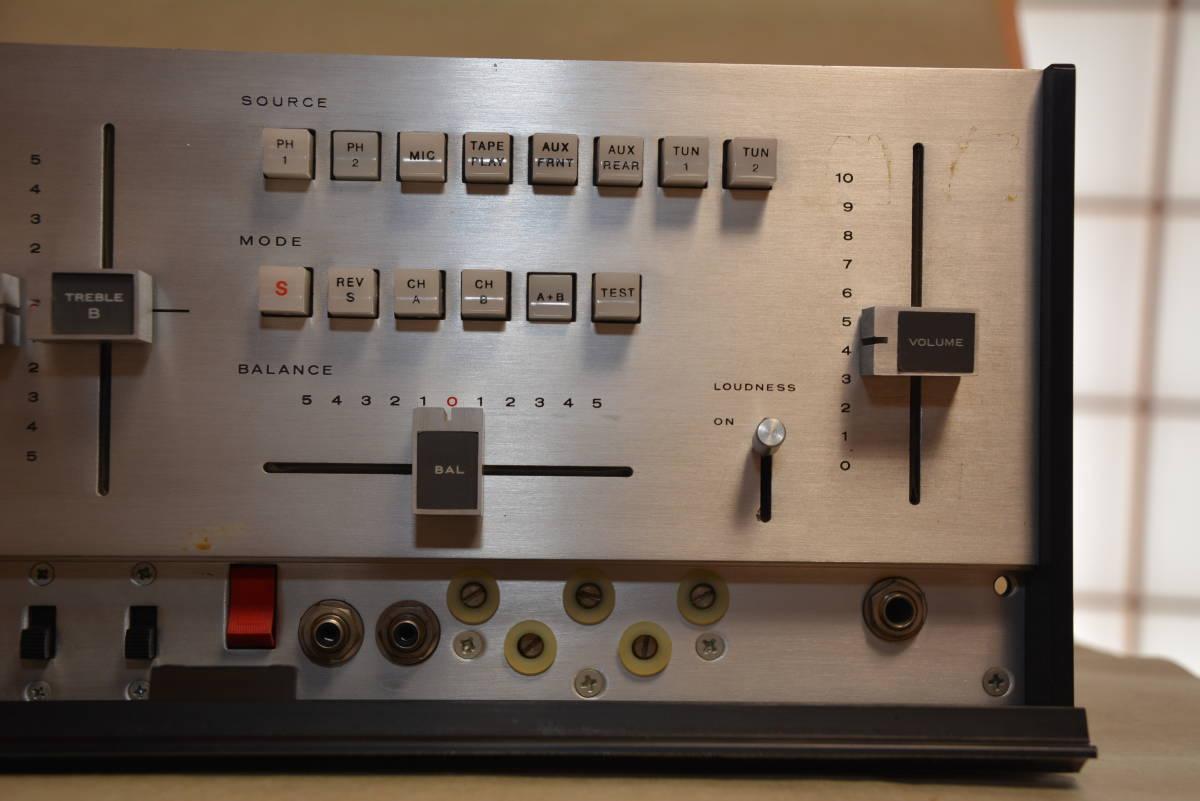 JBL / SG520 / ステレオコントロールアンプ ・ジャンク扱い_画像2